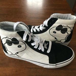 Brand New Snoopy Vans